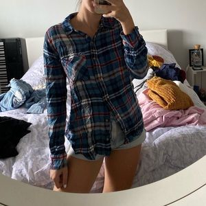 abercrombie & fitch flannel!!